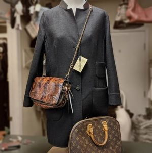 Authentic Akris, NWT reversible coat size 8